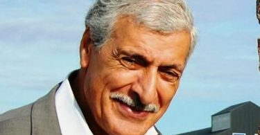 Ferhat Mehenni the president of the Kabyle government. Portrait