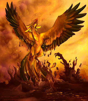 Like the bird Phoenix, the Kabylian people are resurrecting from their ashes